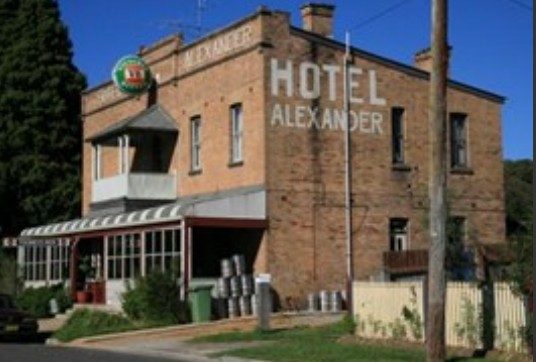Alexander Hotel Rydal - Accommodation Yamba