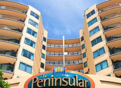 The Peninsular Beachfront Resort - Accommodation Yamba