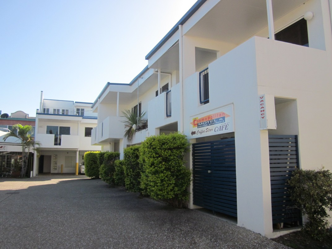Cosmopolitan Motel And Serviced Apartments - Accommodation Yamba