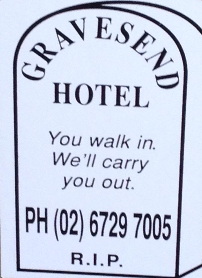 Gravesend Hotel - Accommodation Yamba