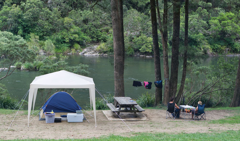 Platypus Flat campground - Accommodation Yamba