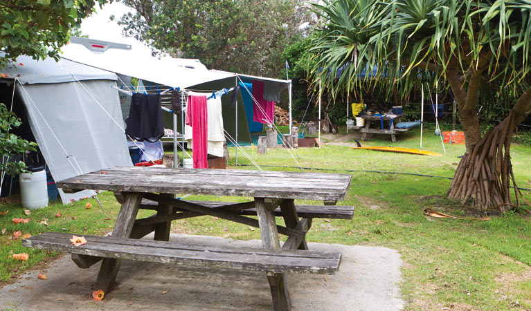 Sandon River campground - Accommodation Yamba