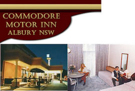 Commodore Motor Inn - Accommodation Yamba