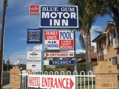 Blue Gum Motor Inn - Accommodation Yamba