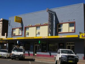 Club House Hotel Gunnedah - Accommodation Yamba