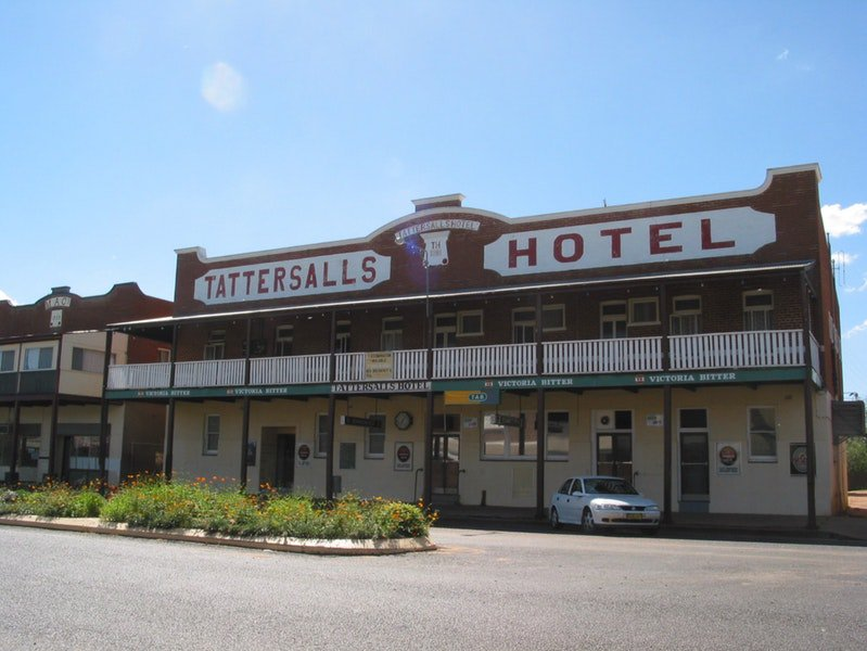 Tattersalls Hotel Baradine - Accommodation Yamba