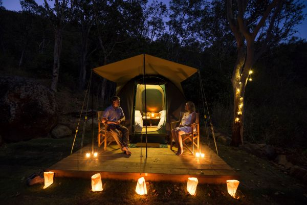 Keswick Island Camping and Glamping - Accommodation Yamba