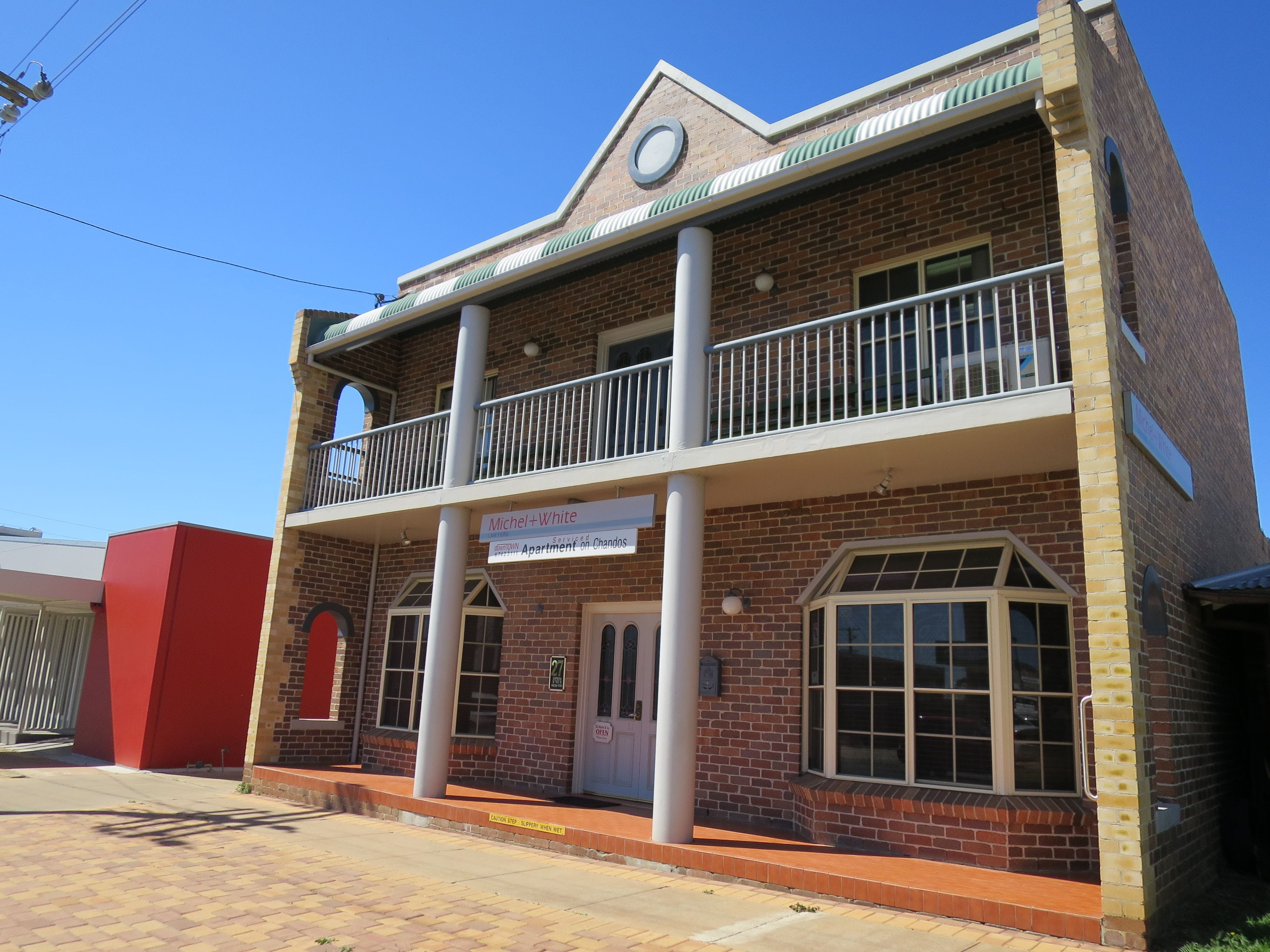 Downtown Apartment on Chandos - Accommodation Yamba