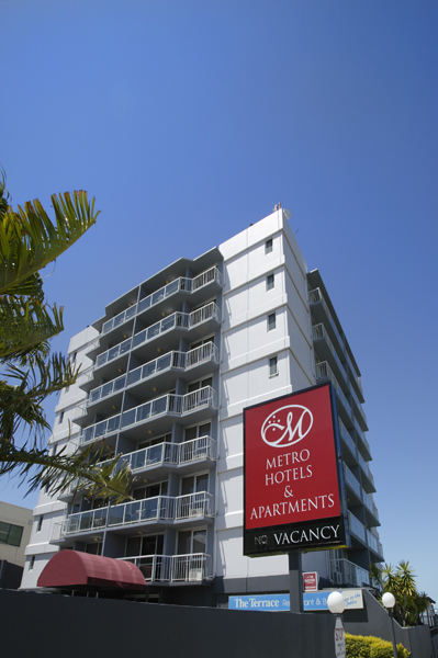 Metro Hotel  Apartments Gladstone - Accommodation Yamba