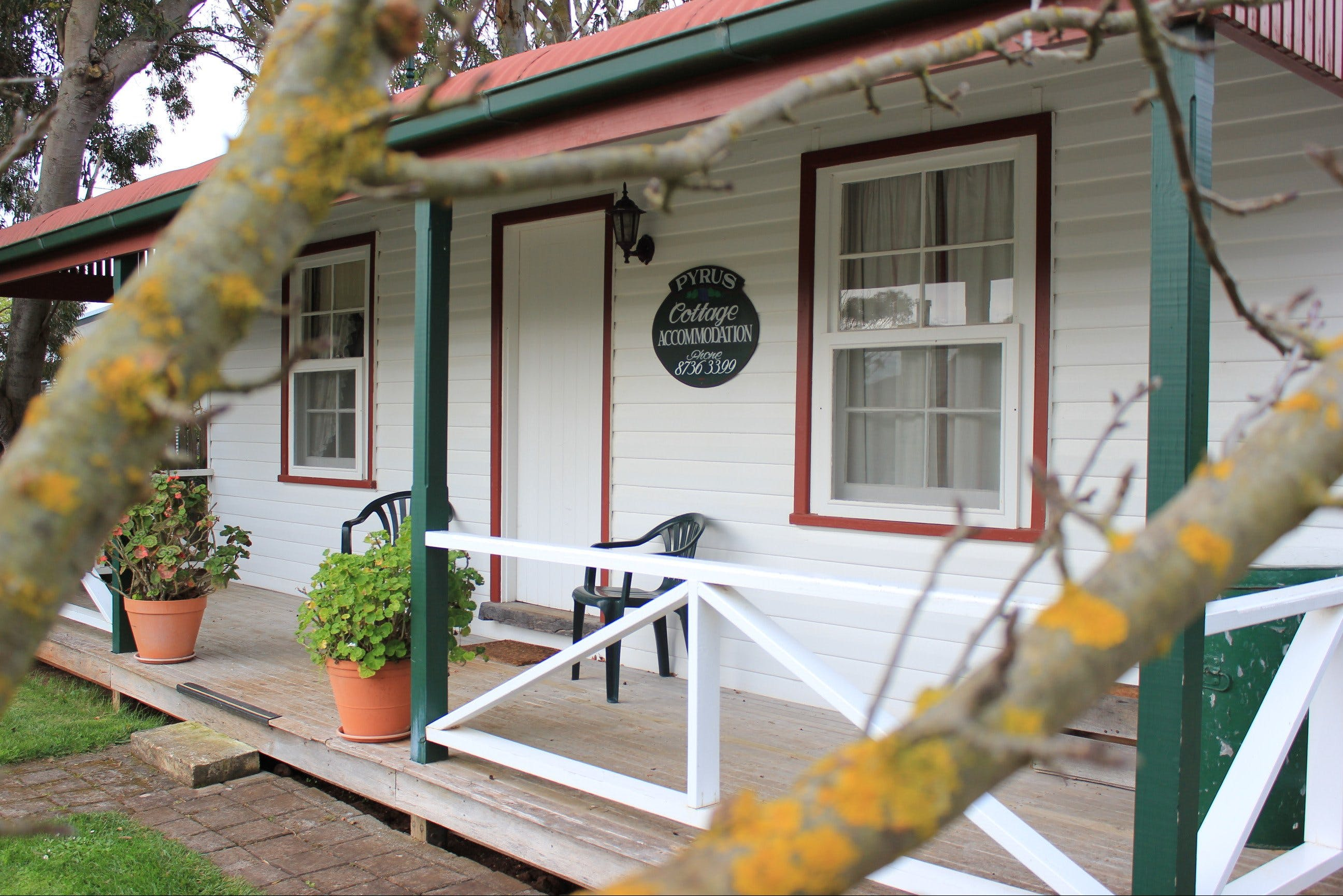 Coonawarra's Pyrus Cottage - Accommodation Yamba