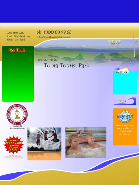 Toora Tourist Park - Accommodation Yamba
