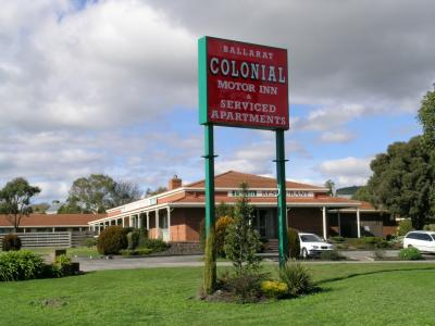 Ballarat Colonial Motor Inn - Accommodation Yamba