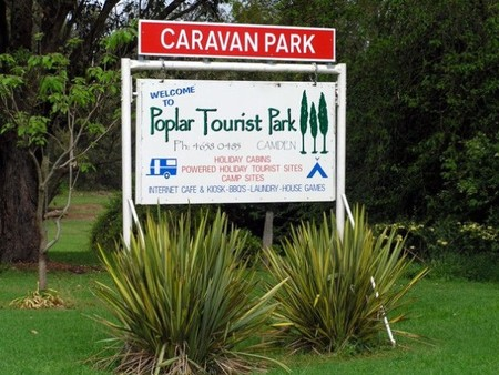 Poplar Tourist Park - Accommodation Yamba