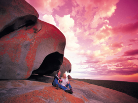 Remarkable Rocks Flinders Chase National Park - Accommodation Yamba