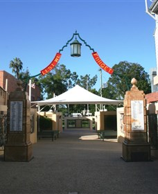 Gympie and Widgee War Memorial Gates - Accommodation Yamba