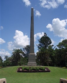 Rockhampton War Memorial - Accommodation Yamba
