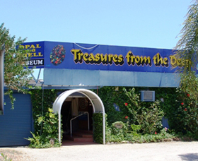 Treasures from the Deep - Opal and Shell Museum - Accommodation Yamba