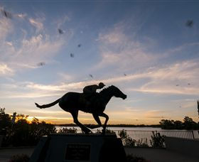 Black Caviar Statue - Accommodation Yamba