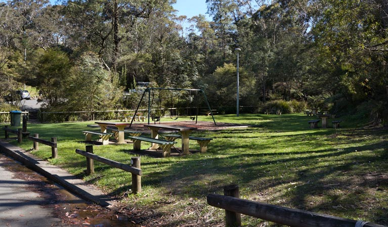 Gordon Falls lookout and picnic area - Accommodation Yamba