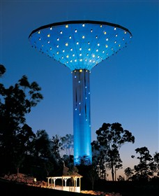 Wineglass Water Tower - Accommodation Yamba