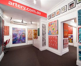 The Artery Aboriginal Art - Accommodation Yamba