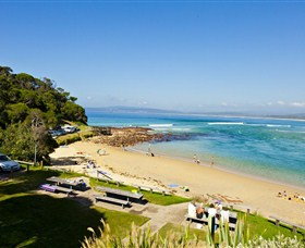 Merimbula Bar Beach - Accommodation Yamba