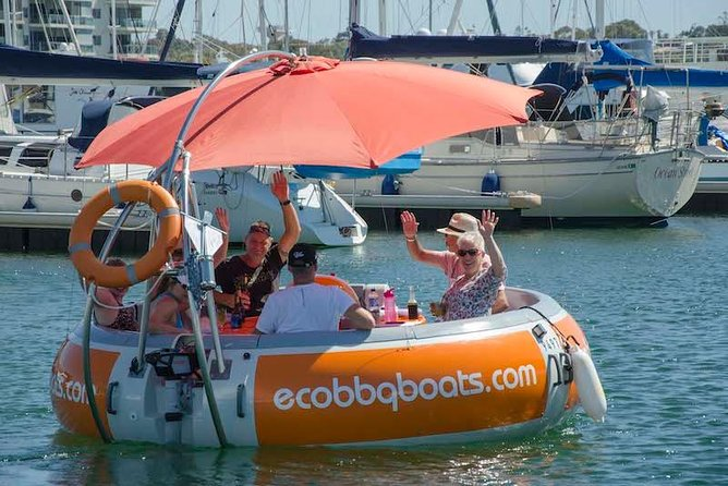 Self-Drive BBQ Boat Hire Mandurah - Group of 7 - 10 people - Accommodation Yamba