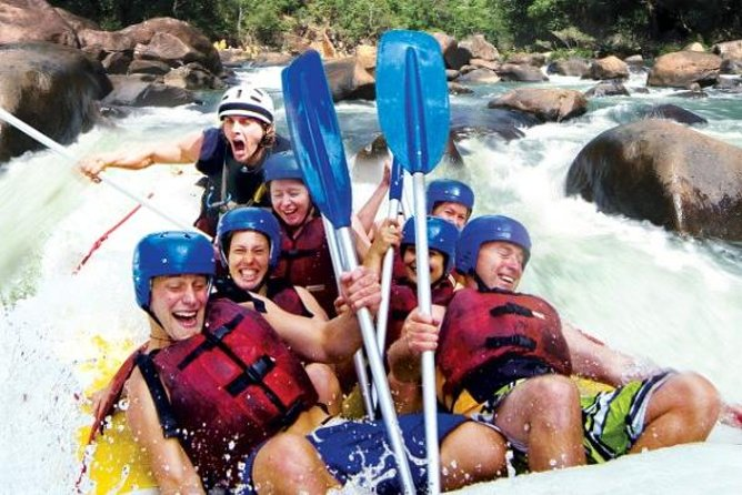 Tully River Full-Day White Water Rafting from Cairns including Lunch - Accommodation Yamba