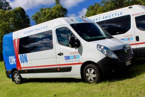 Brisbane Airport Departure shuttle Transfer from Sunshine Coast Hotels/addresses - Accommodation Yamba
