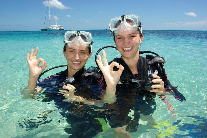 Ocean Spirit Michaelmas Cay Dive and Snorkel Cruise from Palm Cove - Accommodation Yamba