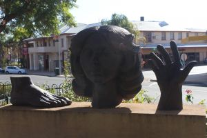 Celebration of life statue Barmera - Accommodation Yamba