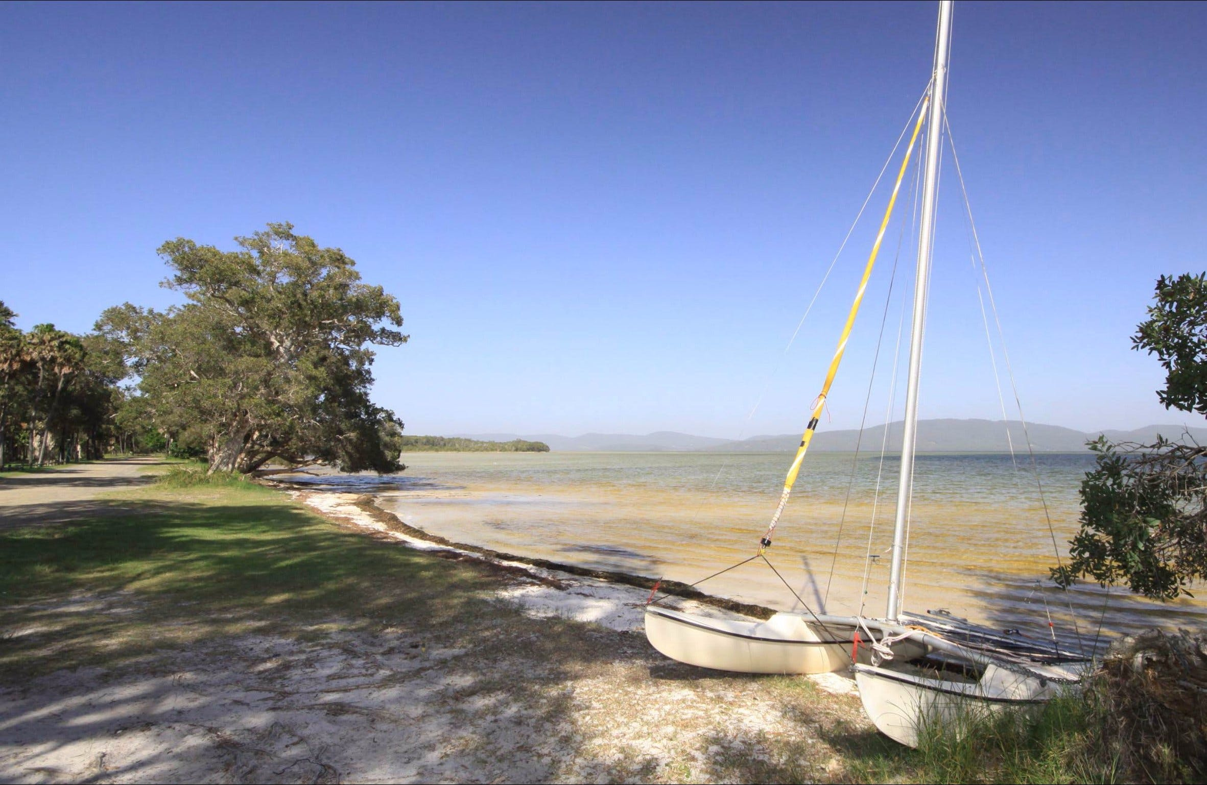 Sailing Club picnic area - Accommodation Yamba