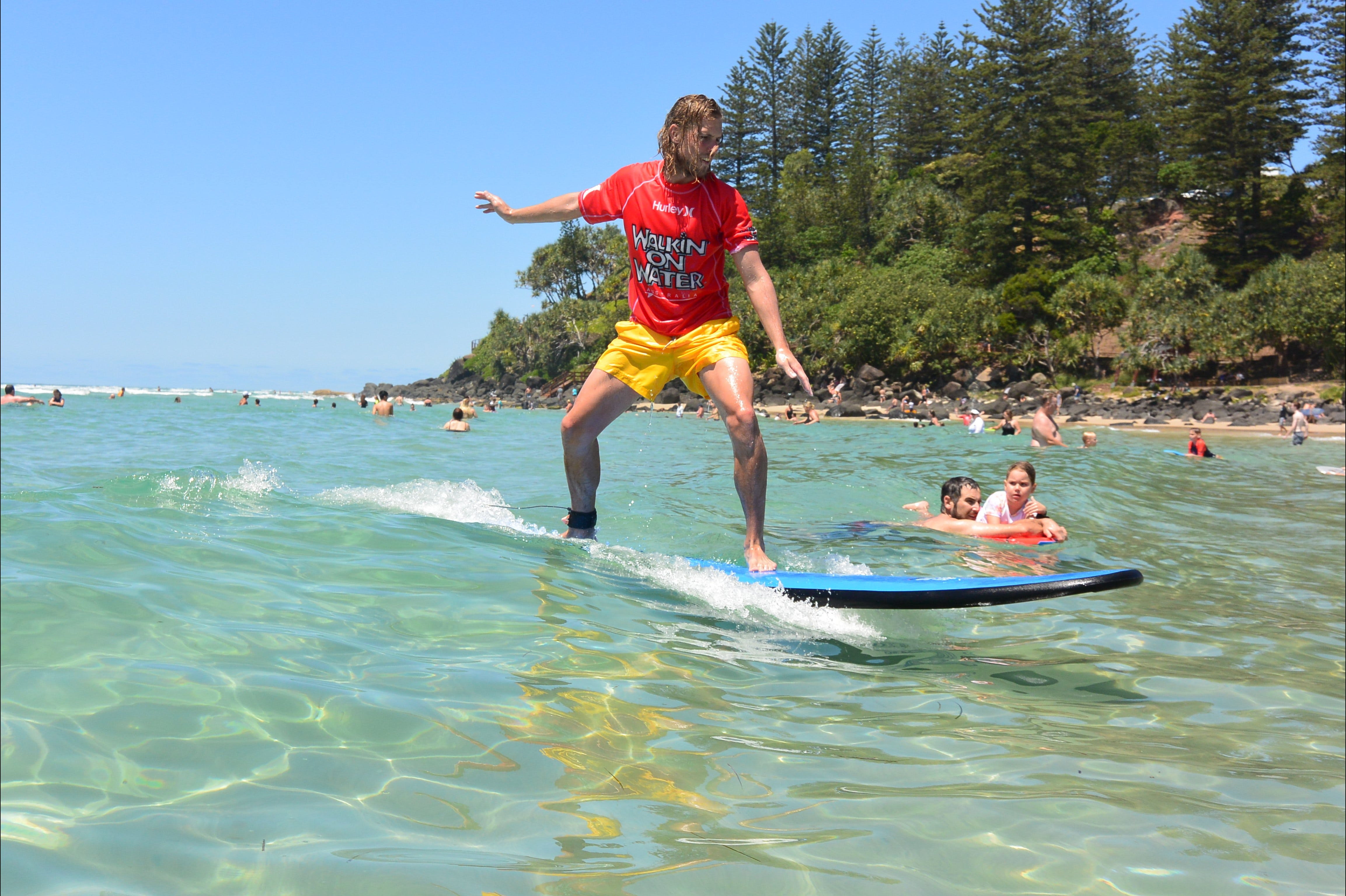 Walkin' On Water Surf School - Accommodation Yamba
