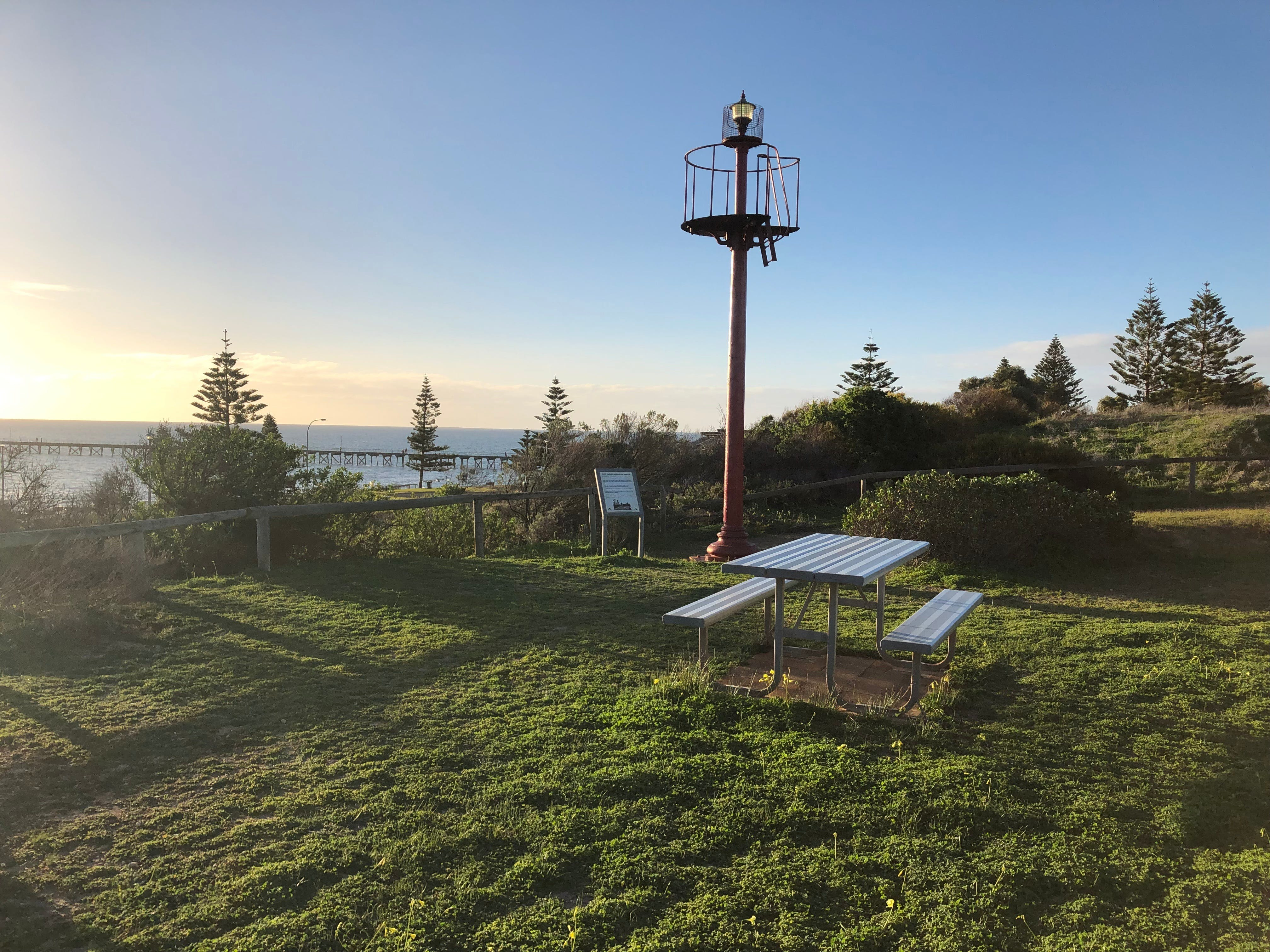 Beacon Reserve Lookout Port Hughes - Accommodation Yamba