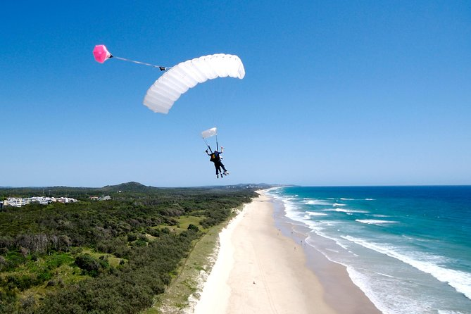 Skydive over Sunshine Coast with Beach Landing - Accommodation Yamba
