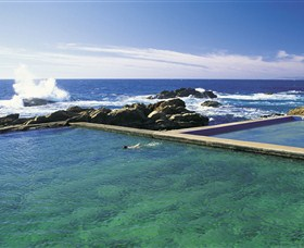 Blue Pool - Accommodation Yamba