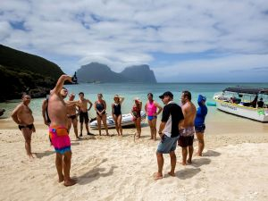 Ocean Swim Week with Trevor Hendy Pinetrees Lord Howe Island - Accommodation Yamba