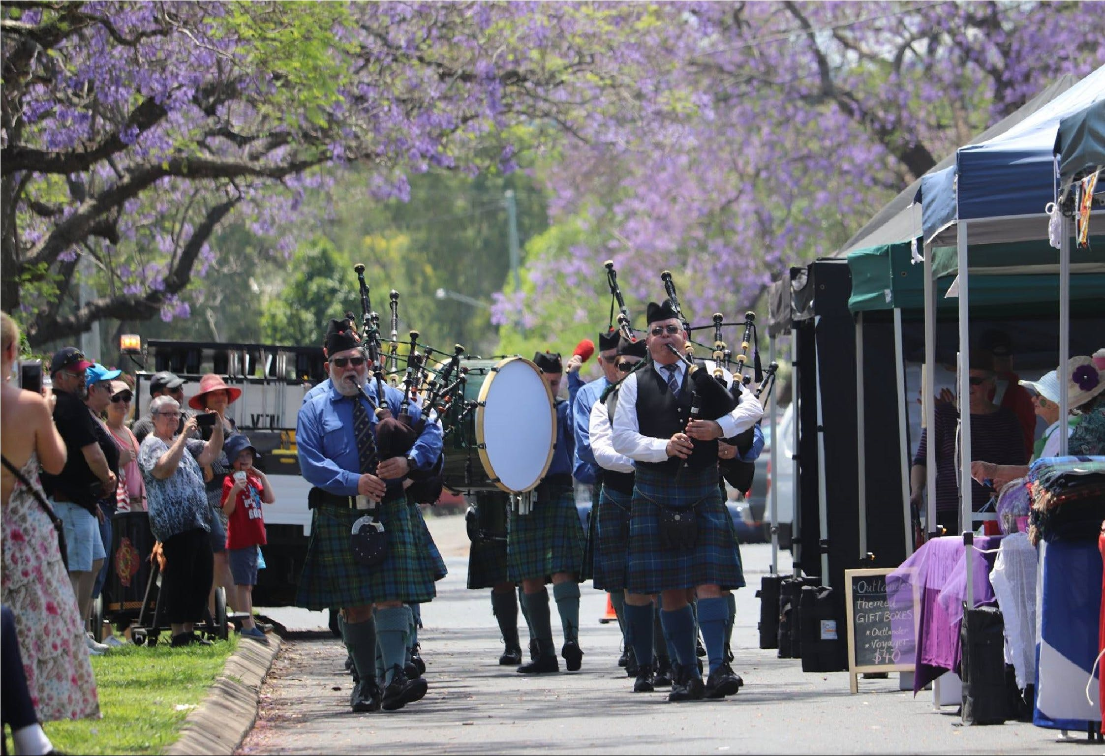 Celtic Festival of Queensland - Accommodation Yamba
