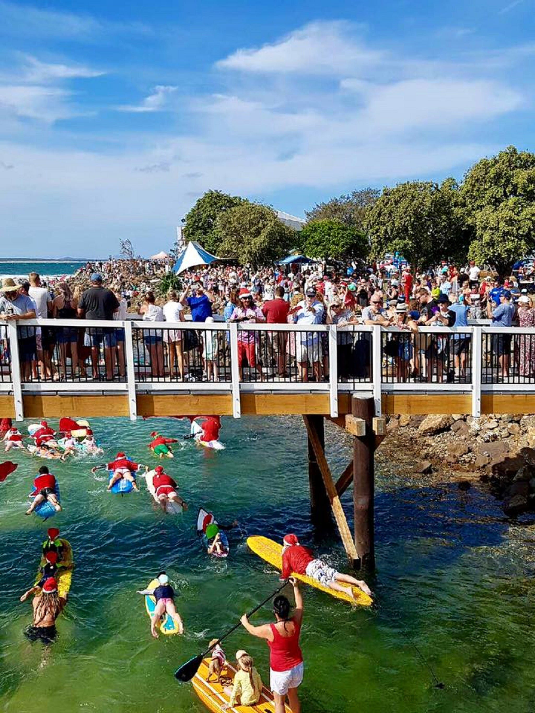 The Crescent Head Santa Surf - Accommodation Yamba