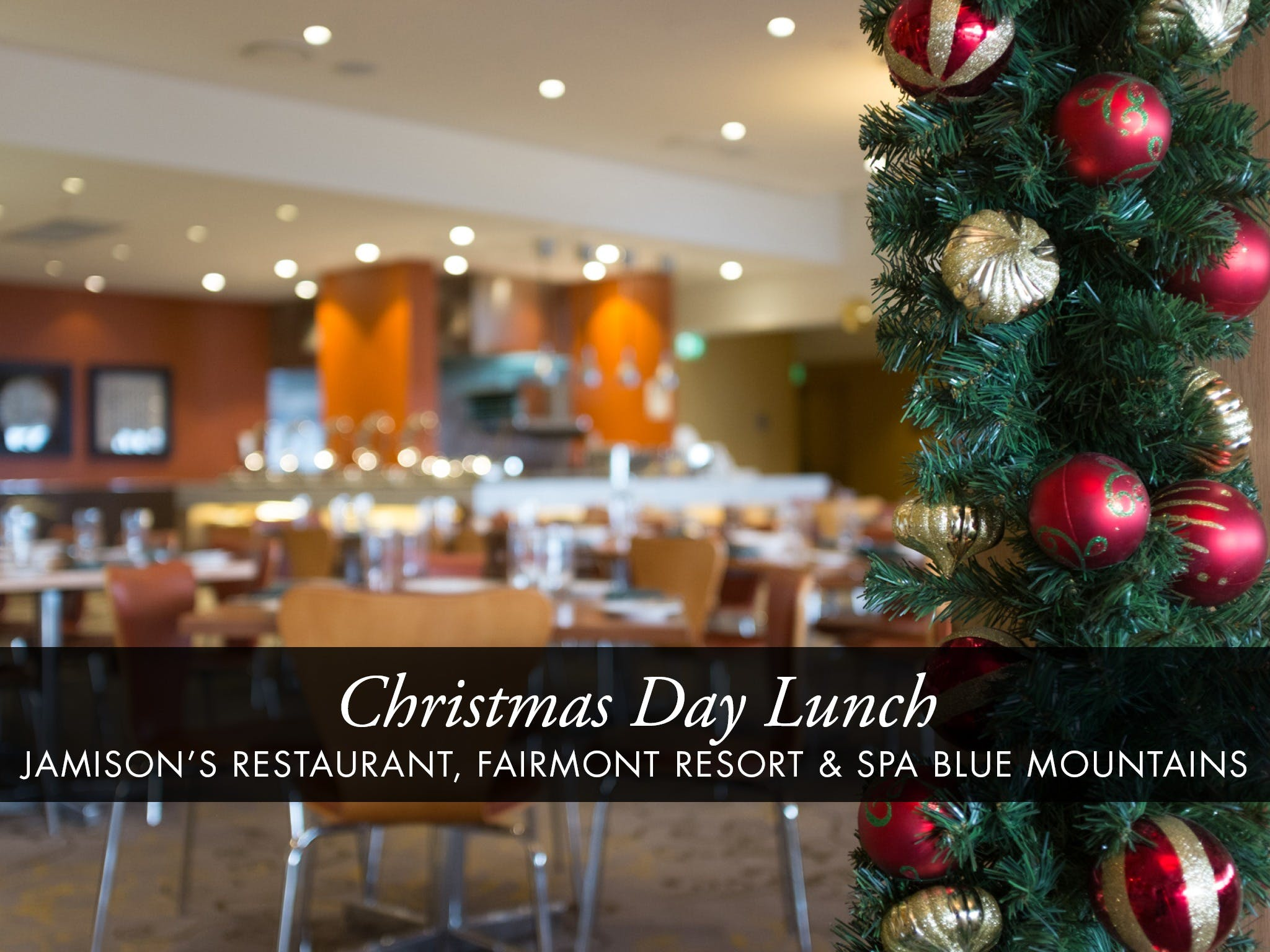 Christmas Day Buffet Lunch at Jamison's Restaurant - Accommodation Yamba