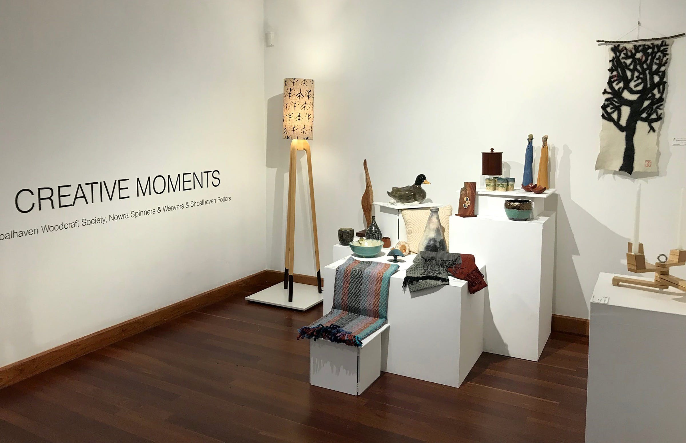 Creative Moments Exhibiton - Accommodation Yamba
