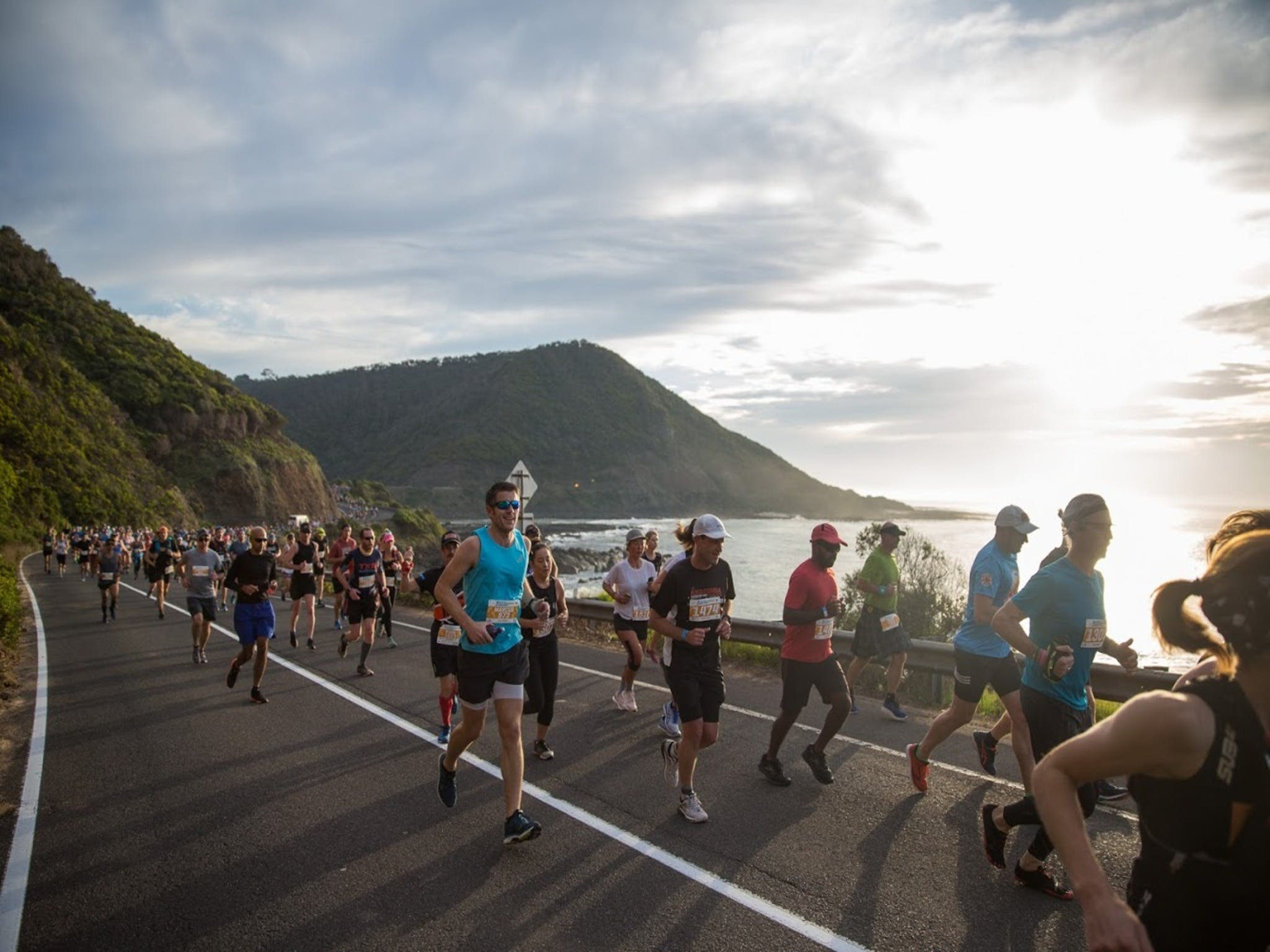 Great Ocean Road Running Festival - Accommodation Yamba