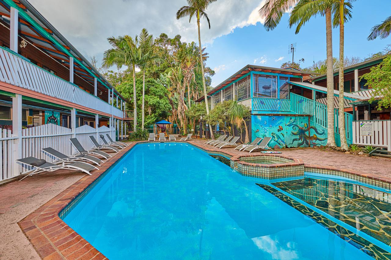 Arts Factory Lodge - Accommodation Yamba